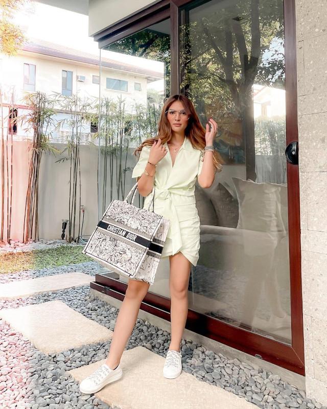 Sofia Andres: Poplin Dress