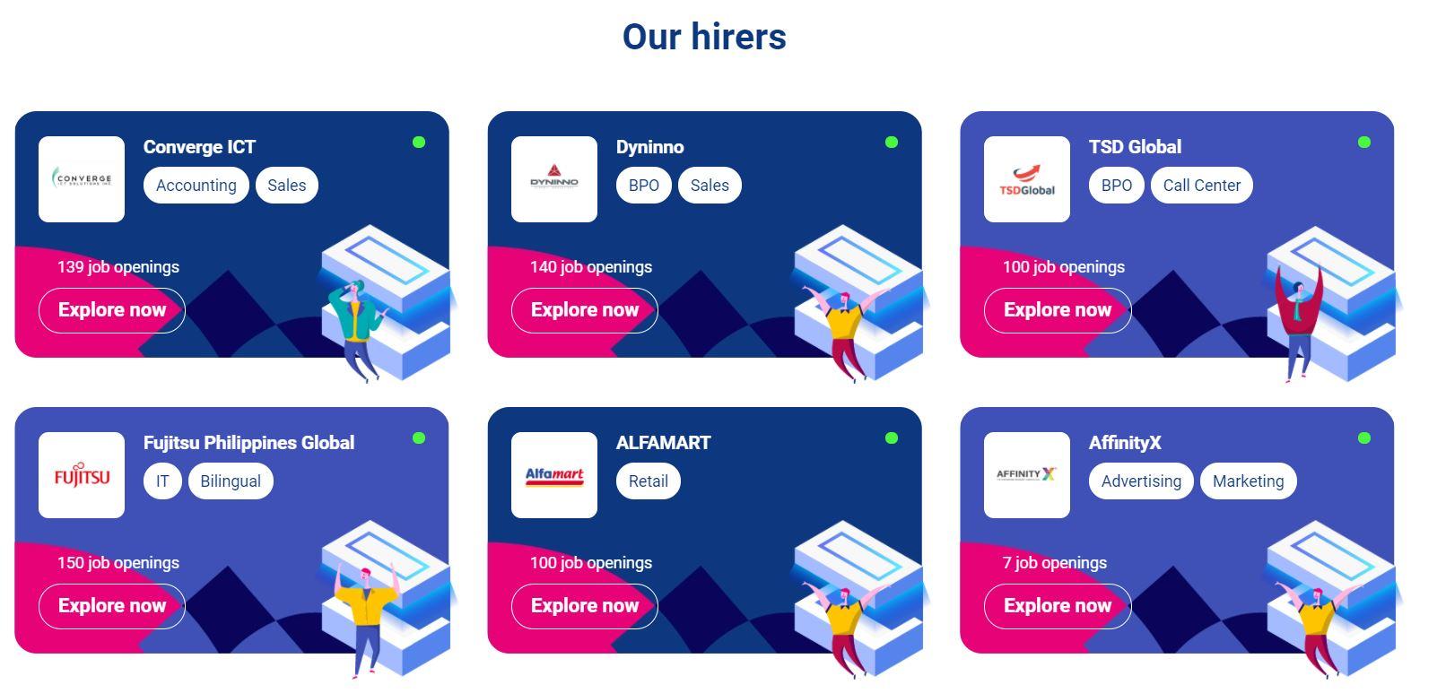 JobStreet Virtual Career Fair: hirers