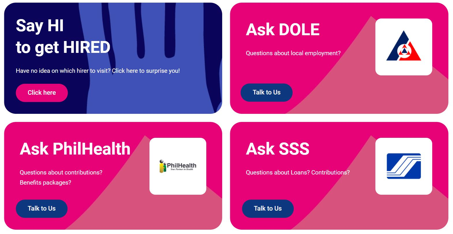 JobStreet Virtual Career Fair: LiveChat with DOLE, SSS, and Phil-Health