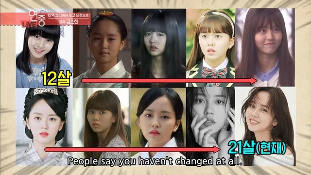 kim so hyun actress roles