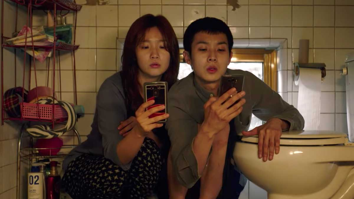 Parasite's Park So Dam and Choi Woo Shik