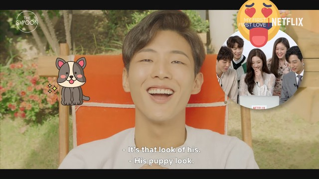 actor ji soo puppy dog look