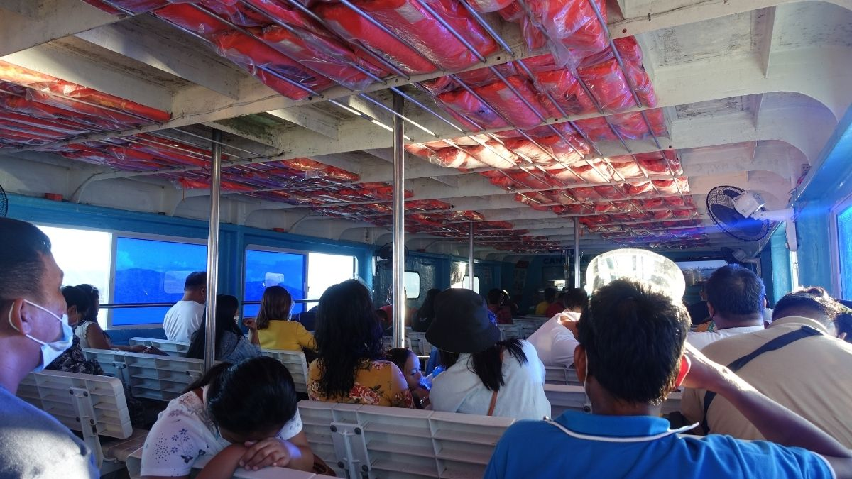Travel in the new normal: ferry ride from Surigao to Siargao