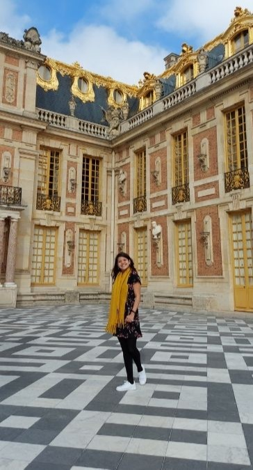 Travel in the new normal: Dana at The Palace of Versailles