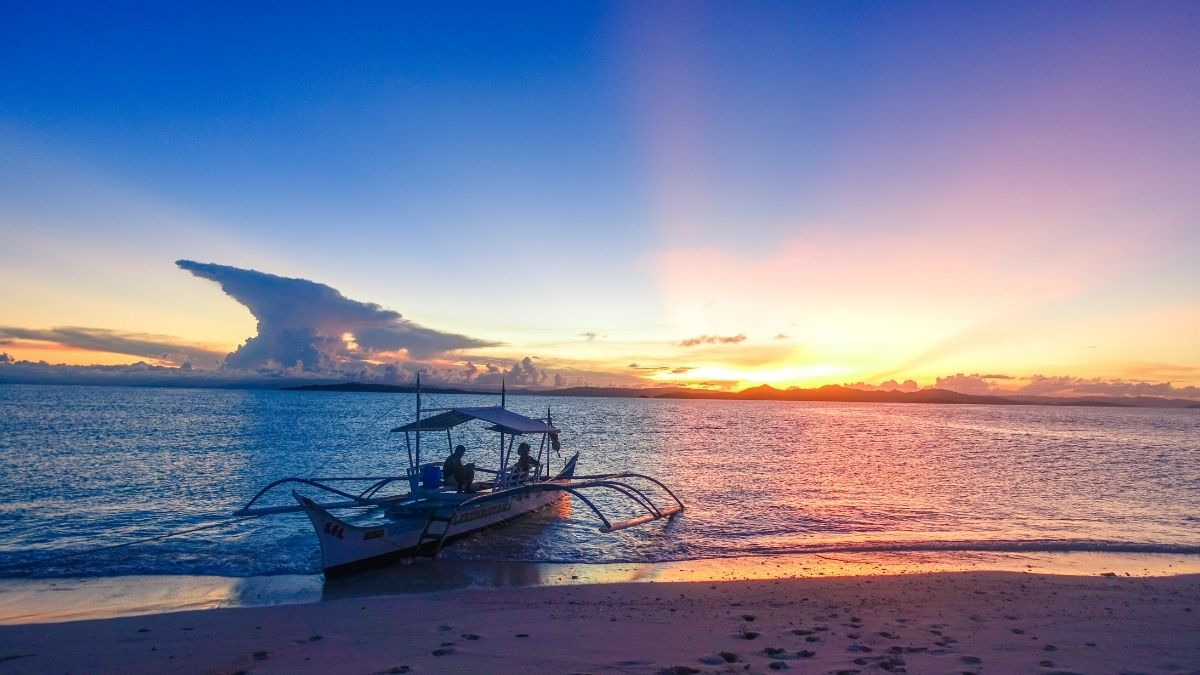 Travel in the new normal: Naked Island, Siargao