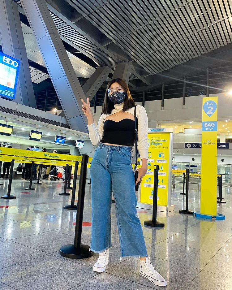 Travel in the new normal: Dianne at NAIA Airport