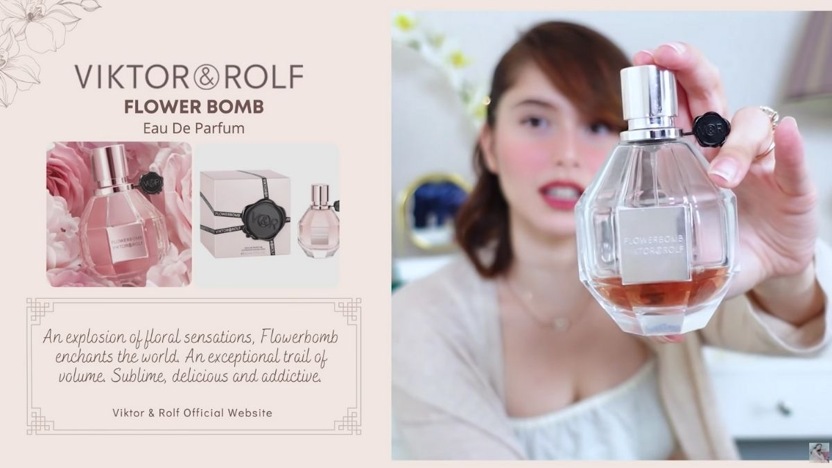Jessy Mendiola's perfume collection: Flower Bomb by Viktor & Rolf