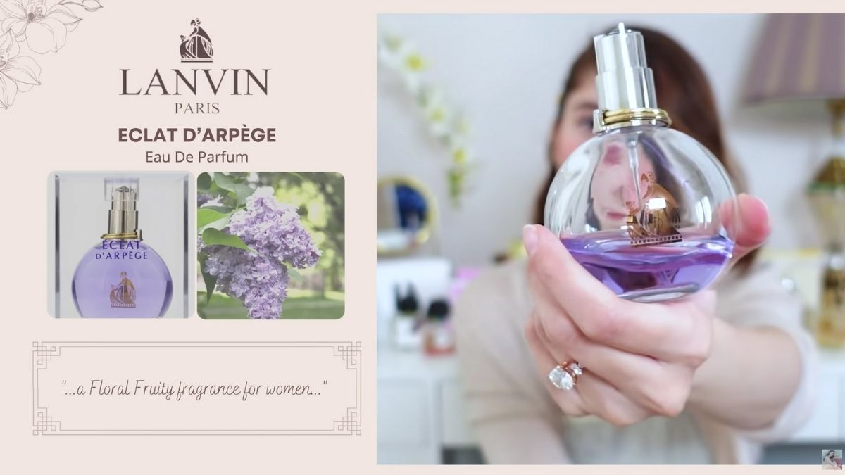 Jessy Mendiola's perfume collection: ECLAT D'ARPEGE by LANVIN
