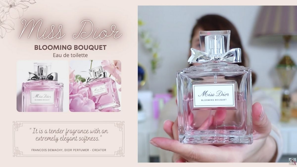 Jessy Mendiola's perfume collection: Blooming Bouquet by Miss Dior