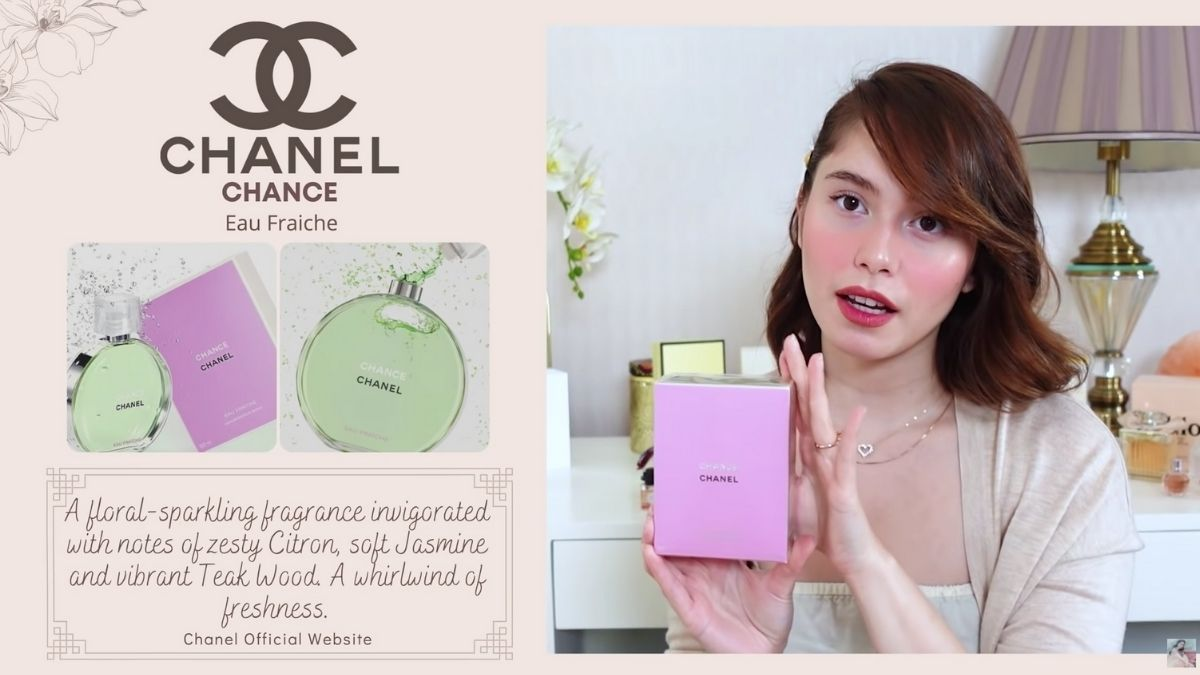 Jessy Mendiola's perfume collection: Chanel Chance