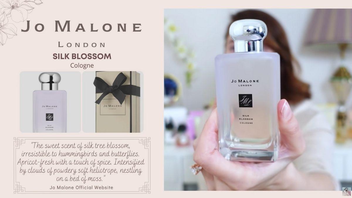 Jessy Mendiola's perfume collection: Silk Blossom by Jo Malone