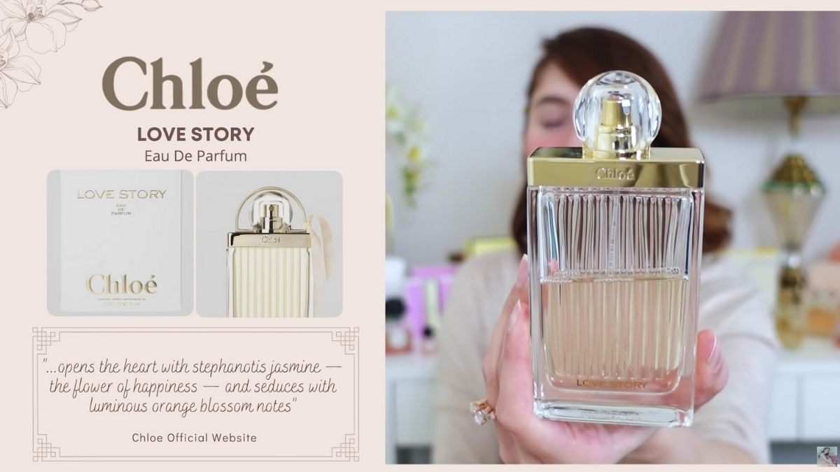 Jessy Mendiola's perfume collection: Love Story by Chloe