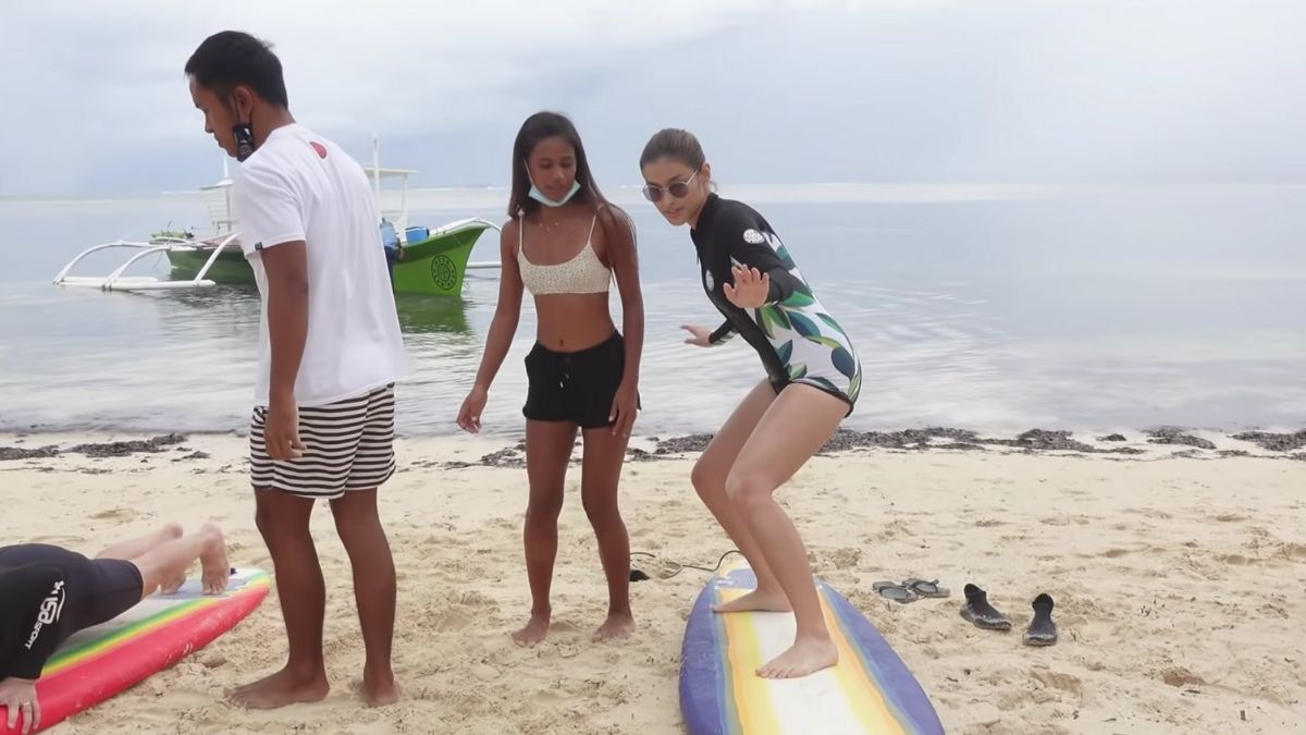 Liza Soberano vlog: learning how to surf in Siargao