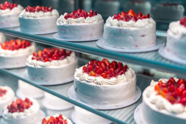 Vizco's Strawberry Shortcake