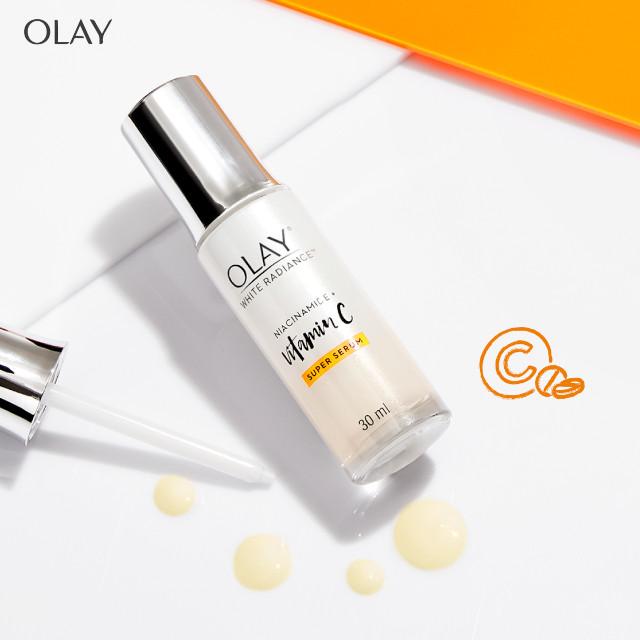 Olay White Radiance Niacinamide + Vitamin C Super Serum