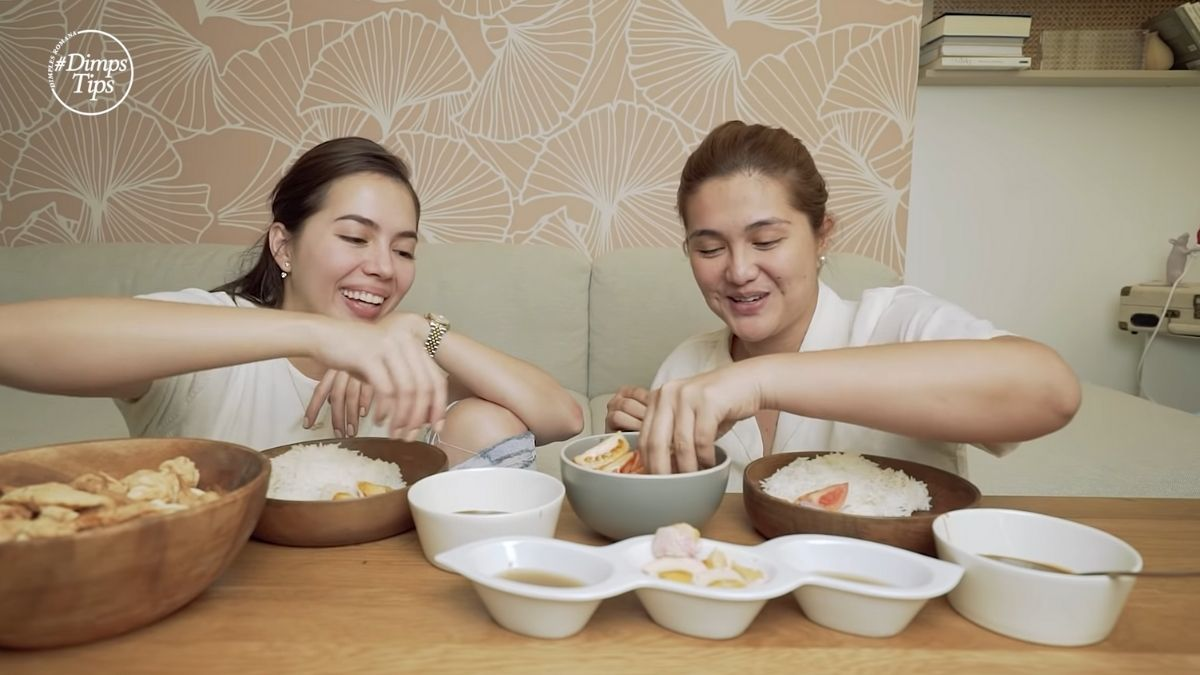 Julia Montes guest stars in Dimples Romana's YouTube channel