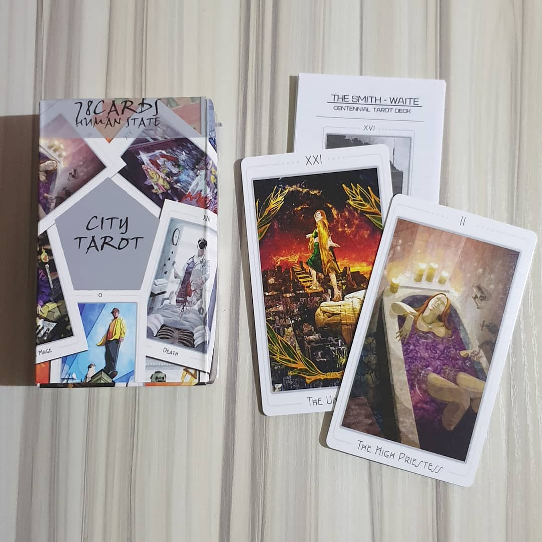 tarot cards: counterfeit deck