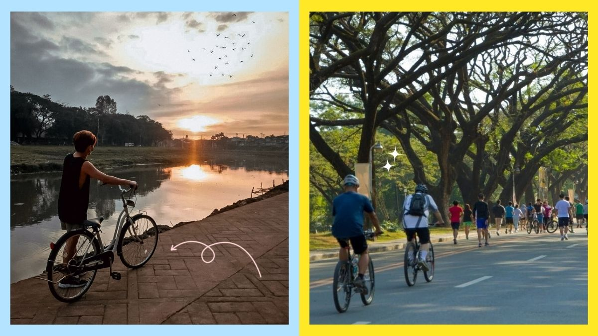 Places to bike in Manila: Marikina River Park and UP Academic Oval