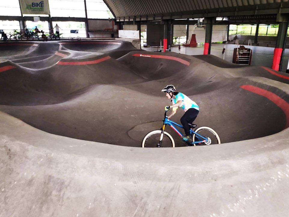 Places to bike in Manila: The Bike Playground, Circulo Verde, Calle Industria,