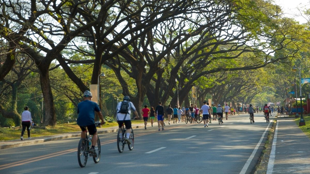 Places to bike in Manila: UP Diliman Academic Oval