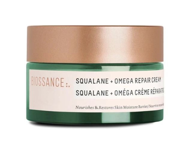 Fix damaged skin barrier: Biossance Squalane Omega Repair Cream