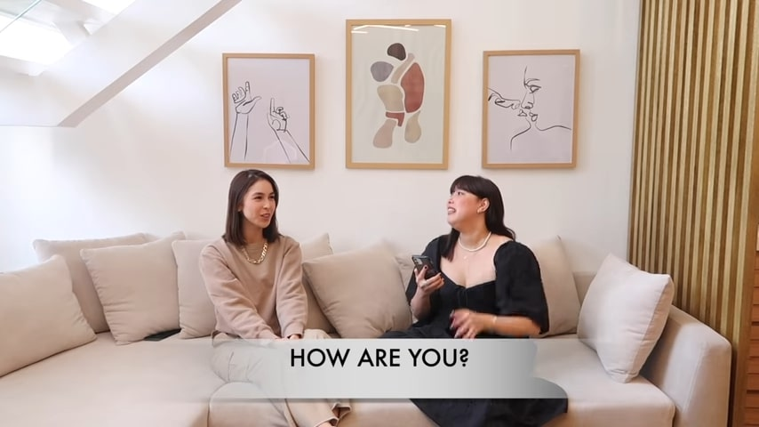 Dani Barretto Q&A vlog with Julia Barretto: