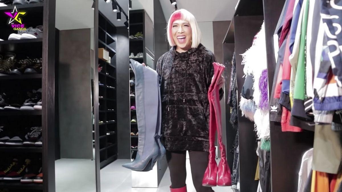 Vice Ganda's shoe collection: Fendi Thigh-High Boots