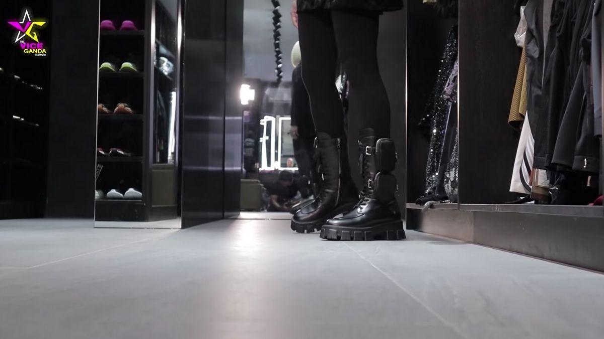 Vice Ganda's shoe collection: Prada combat boots