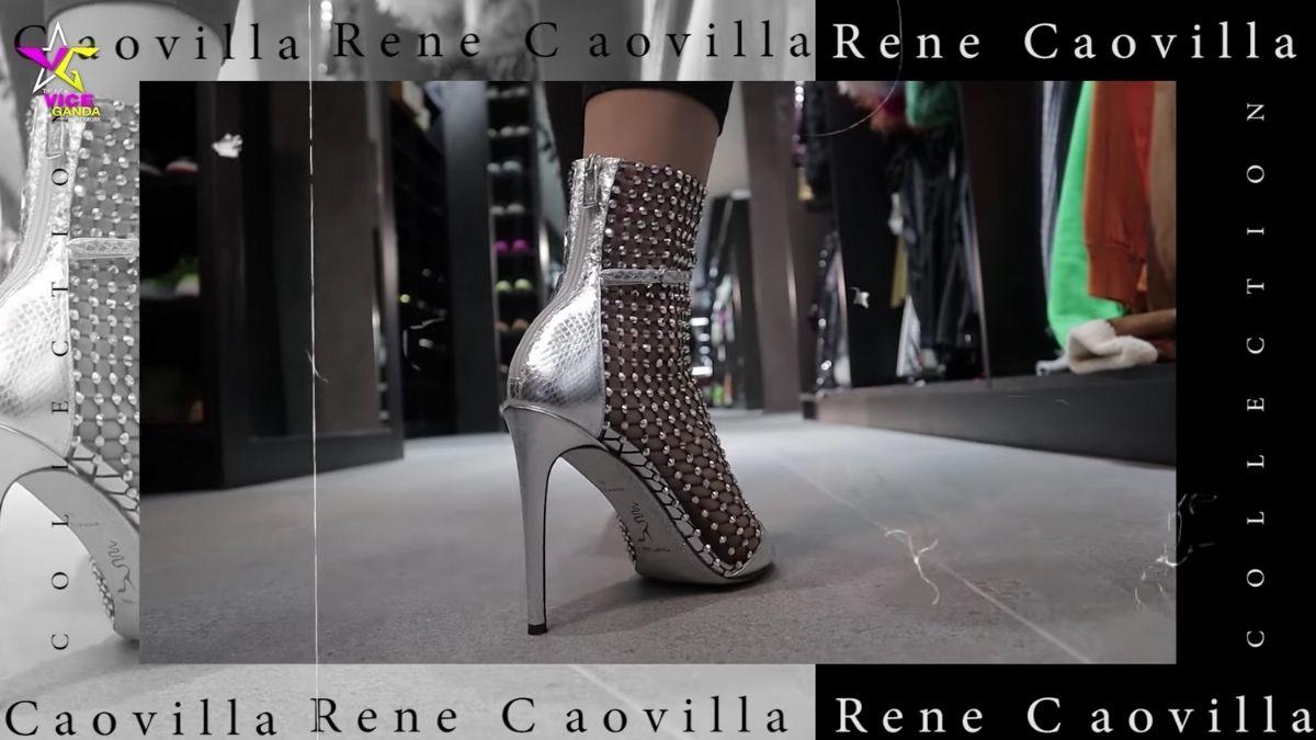 Vice Ganda's shoe collection: Rene Caovilla stillettos
