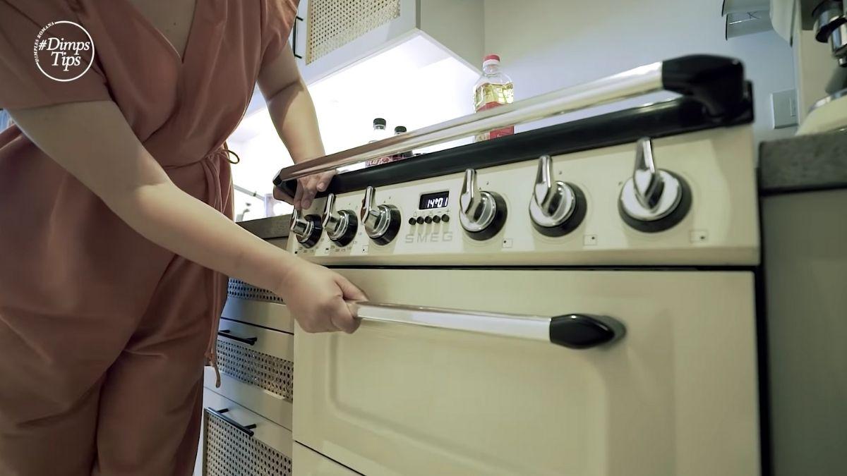 Dimples Romana's condo tour: kitchen
