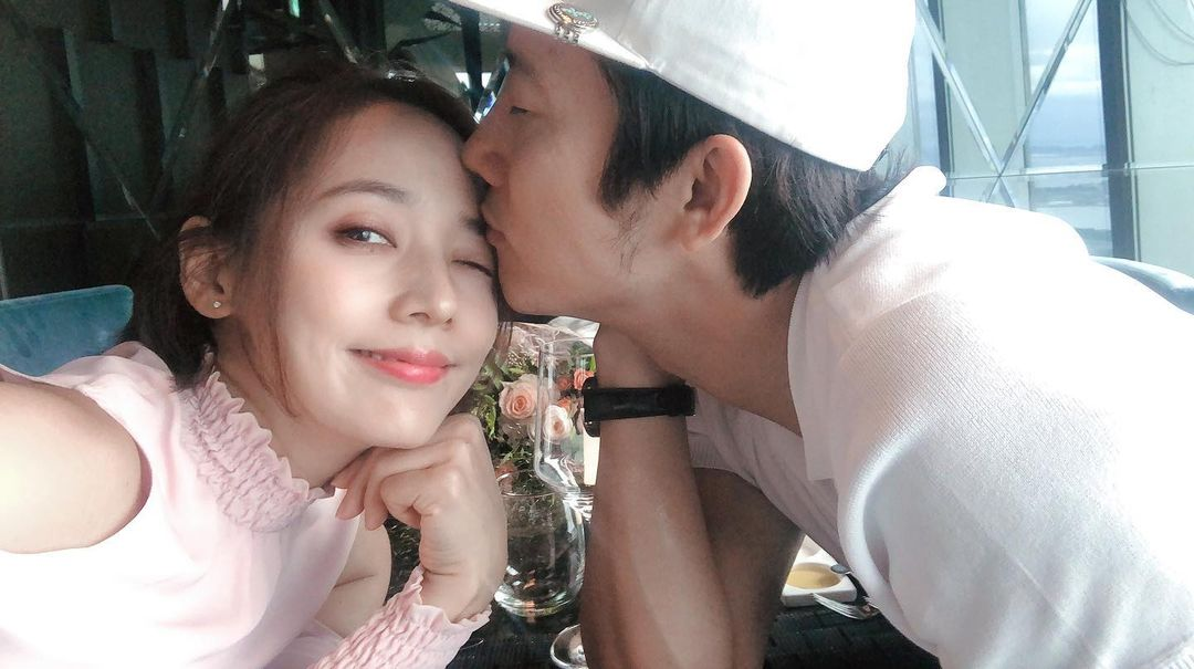 Eugene and husband Ki Tae Young