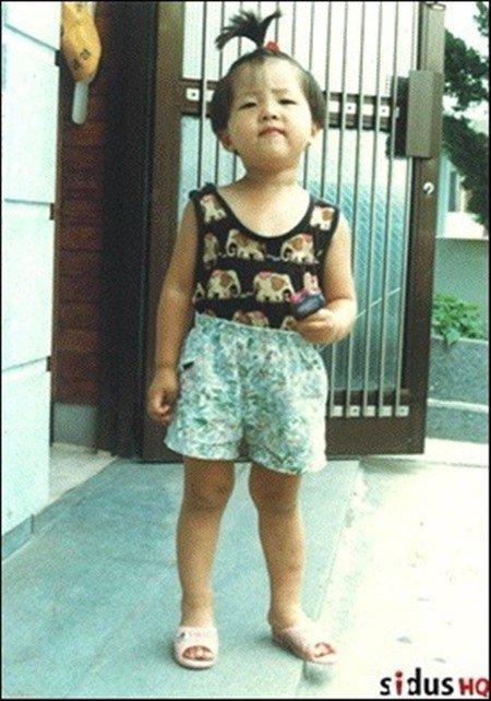 Song Joong Ki as a baby