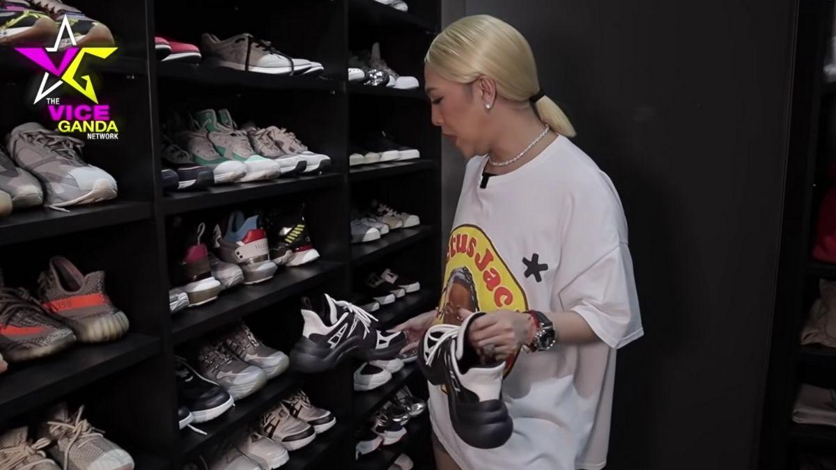 Vice Ganda sneaker collection: Louis Vuitton Archlight