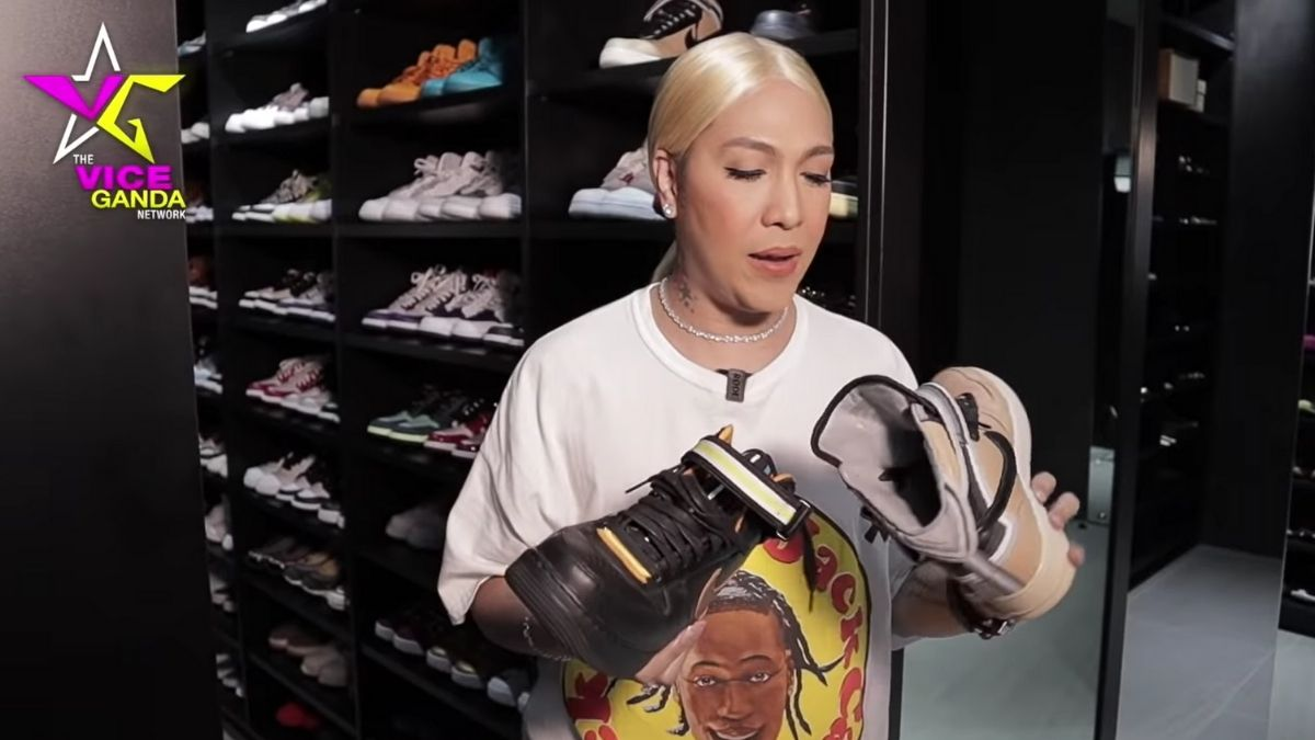 Vice Ganda sneaker collection: Nike Air Force 1 x Ricardo Tisci