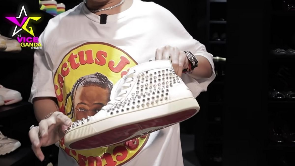 Vice Ganda sneaker collection: Christian Louboutin