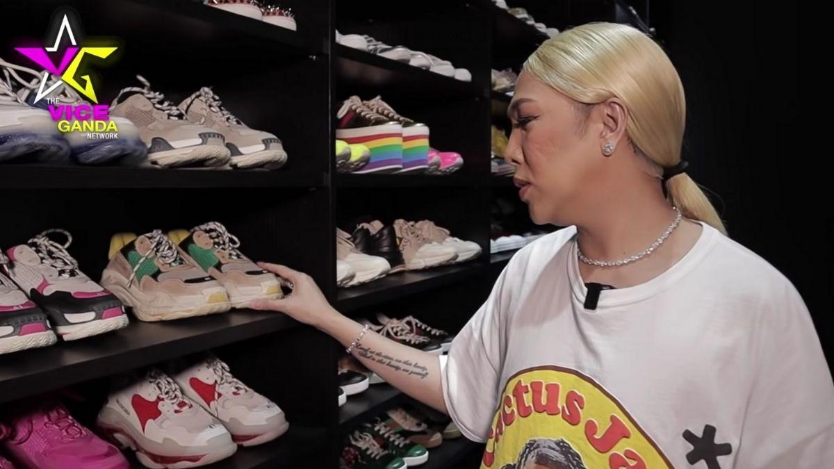 Vice Ganda sneaker collection: Balenciaga