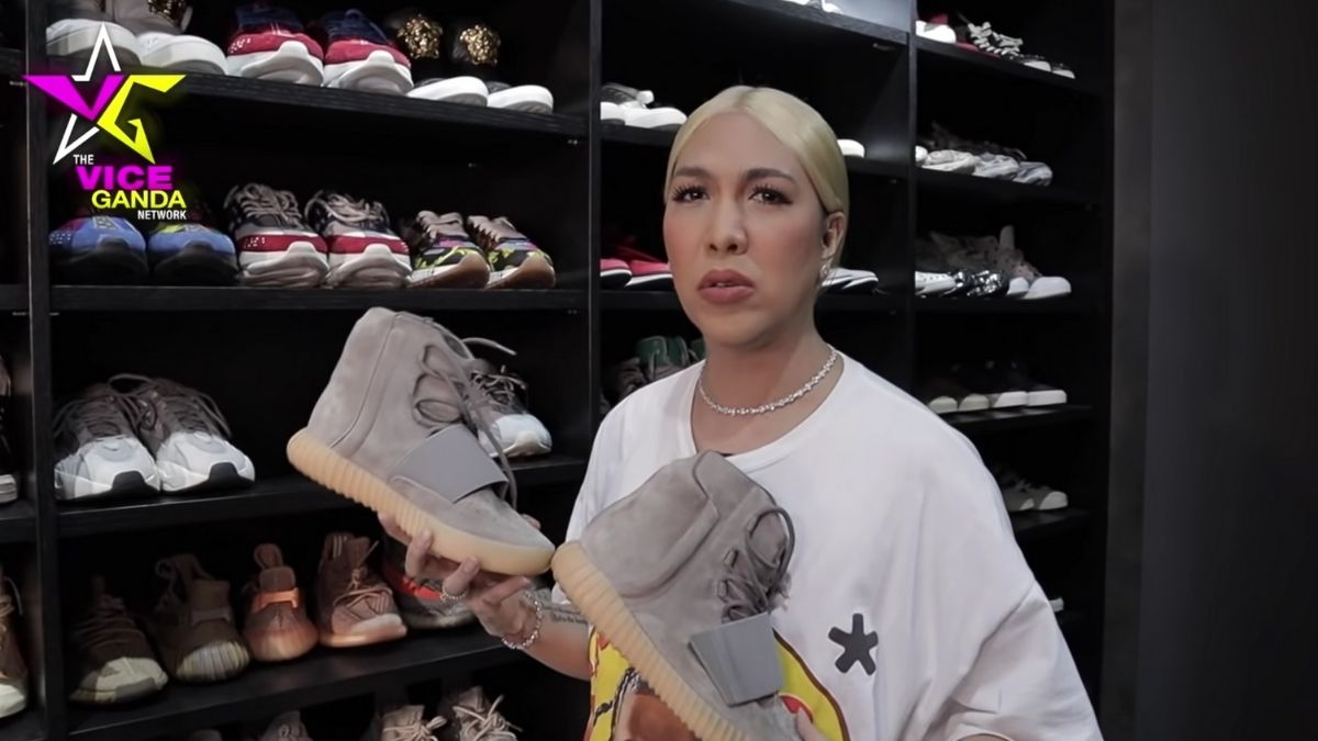 Vice Ganda sneaker collection: Yeezy x Adidas