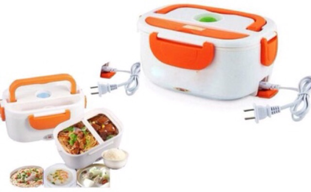 Electric lunch box: power cord + heating food