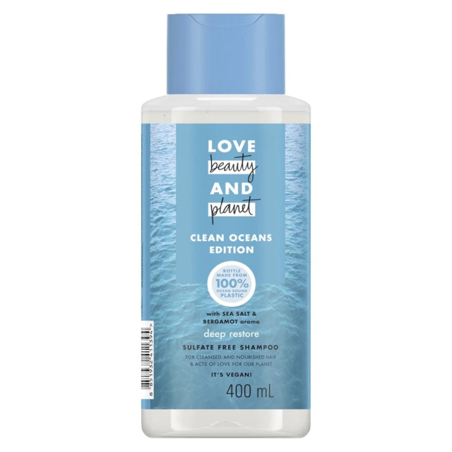 Love Beauty and Planet Sea Salt & Bergamot Shampoo Deep Restore Shampoo