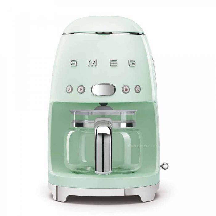 Smeg coffee maker in green