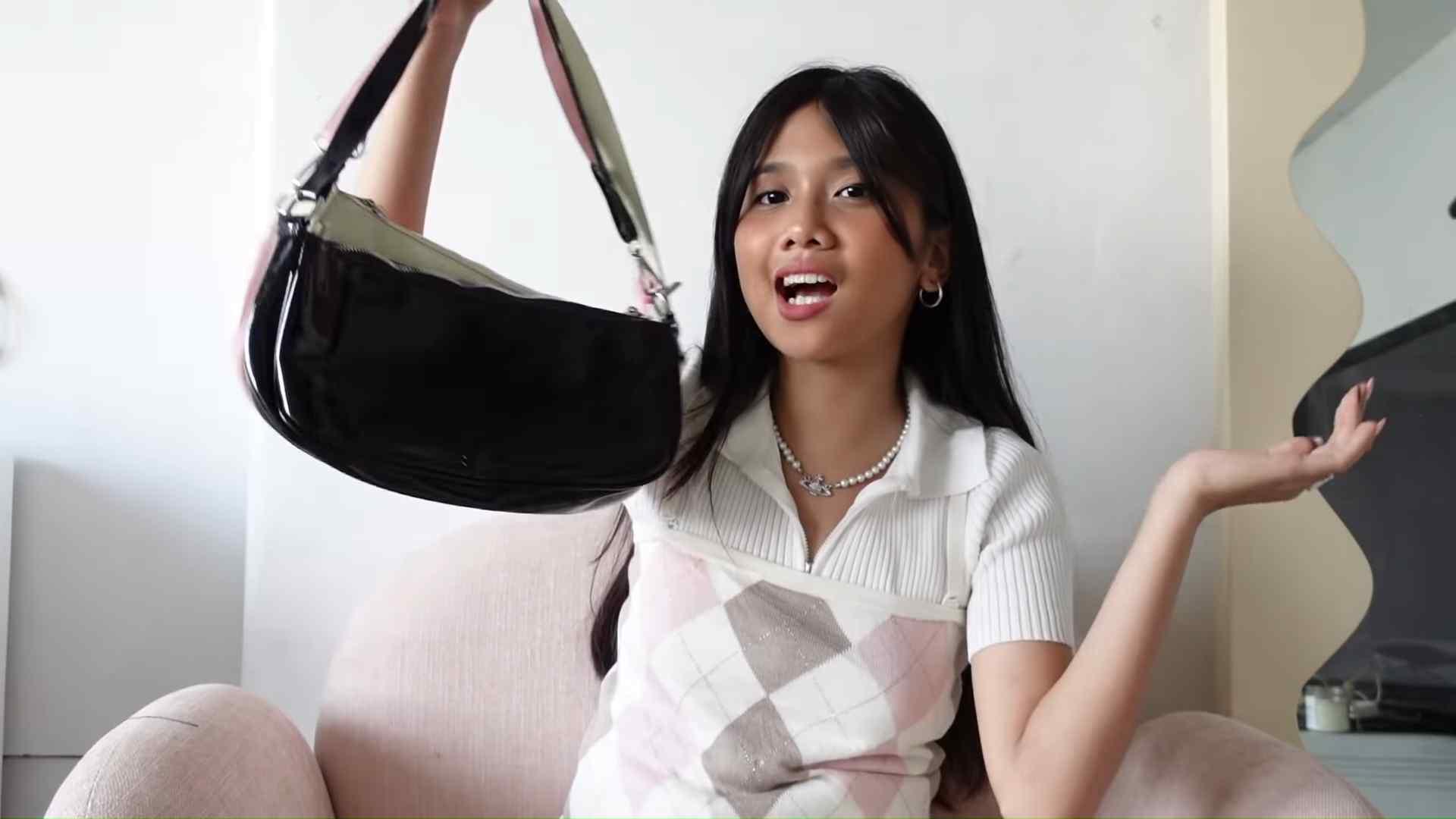 Ashley Garcia's Bag Haul - the 'shopee' bag