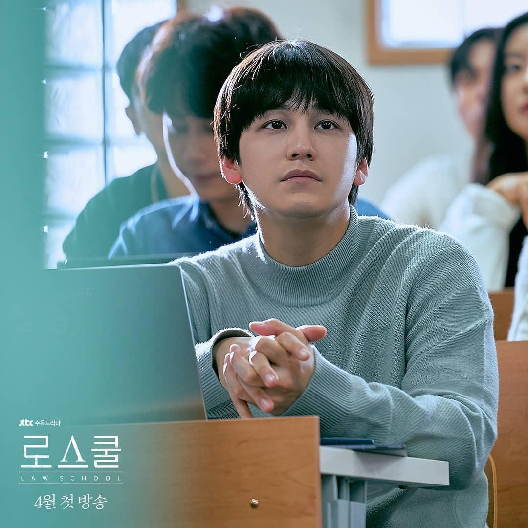 Kim Bum for the K-drama, 'Law School'