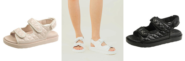 Love, Ara chunky sandals