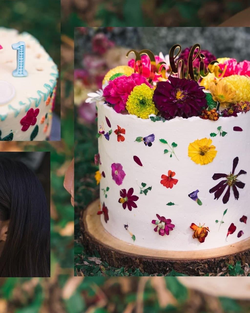 Dahlia Amélie's birthday cake