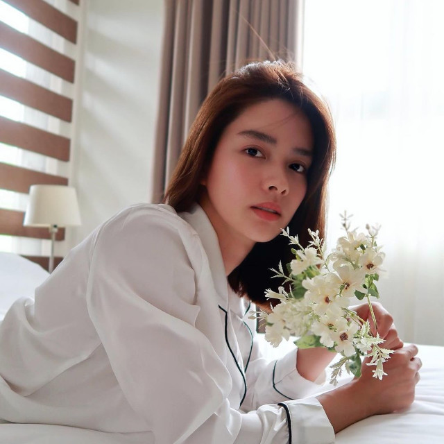 Erich Gonzales at home.