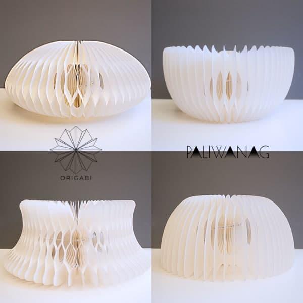 Paliwanag lamps: origabi in different forms