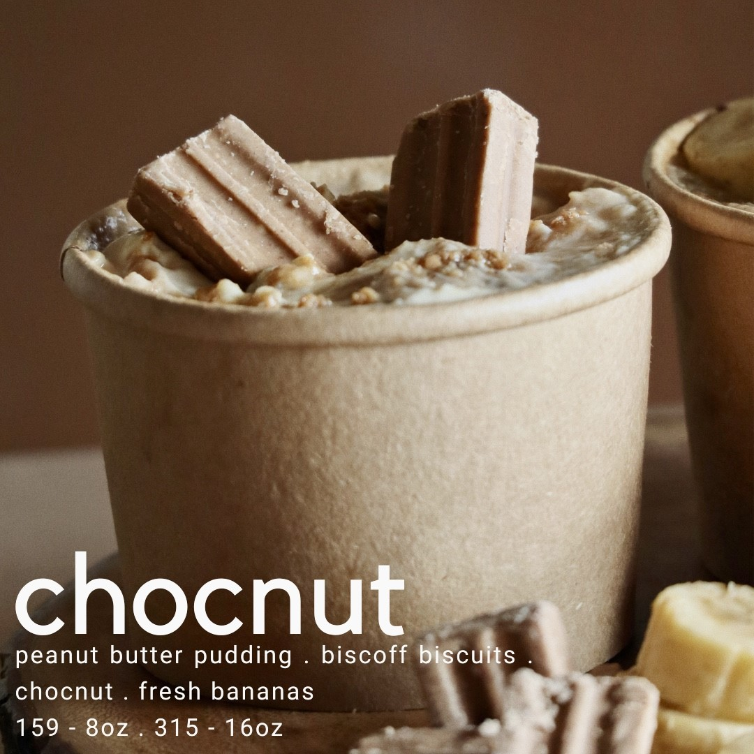 Baked desserts by Cocoa & Co. - chocnut banana pudding