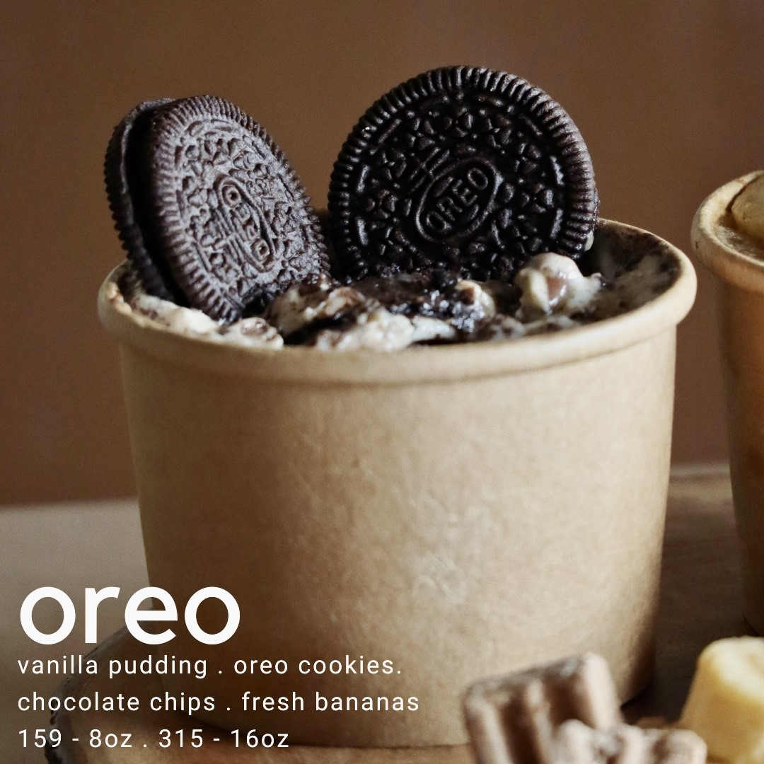 Baked desserts by Cocoa & Co. - oreo banana pudding