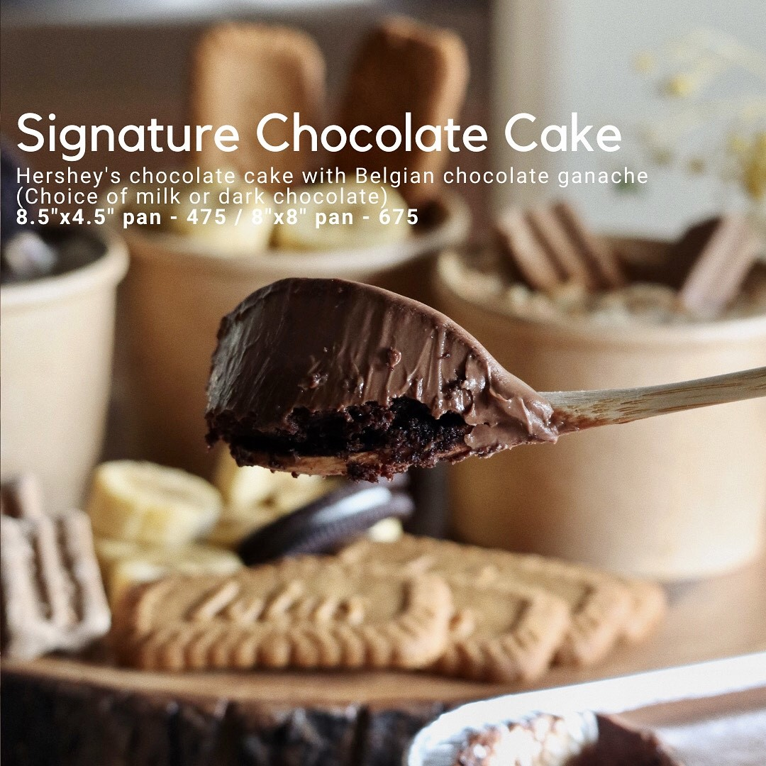 Baked desserts by Cocoa & Co. - signature chocolate cake