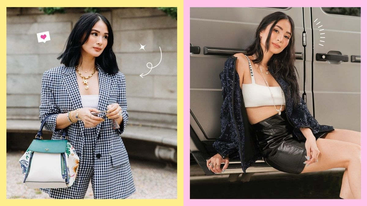 How to style a bralette, as seen on Heart Evangelista